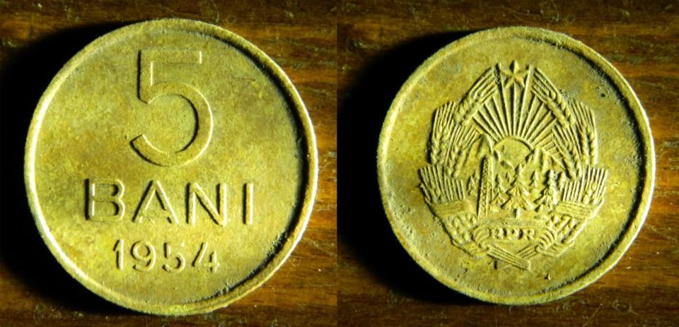 5 bani 1954