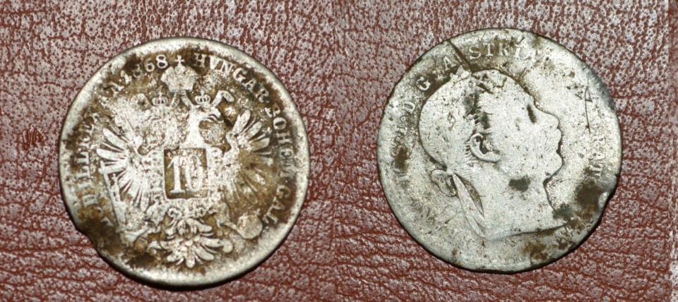 10 kreuzer 1868 Argint