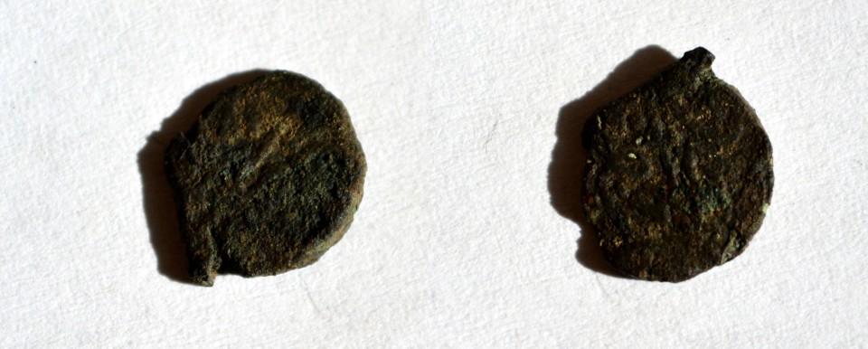 Moneda medievala turceasca bronz
