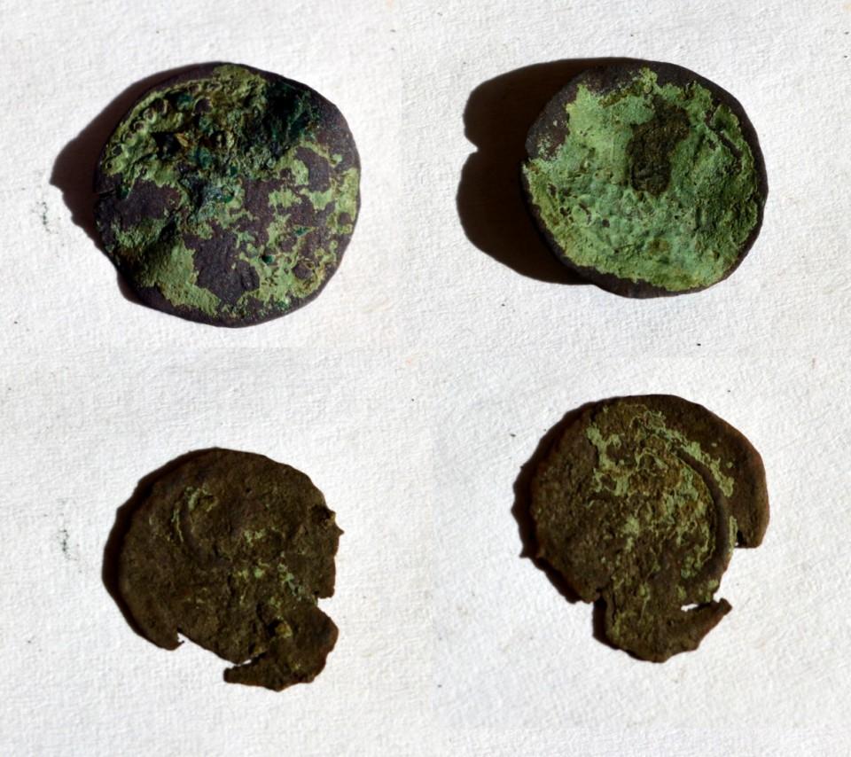 moneda medievala jumatate de gros