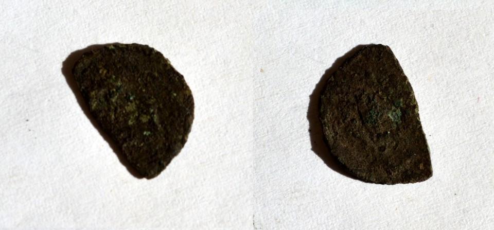 fragment moneda jumatate de gros
